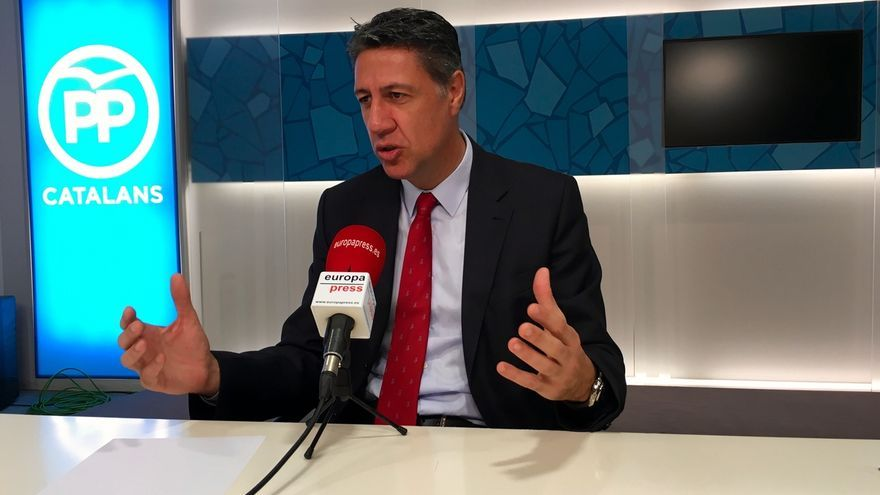 """Albiol (PP) aboga por aplicar el 155 si JxSí-CUP despliegan su """"desafío"""" independentista"""