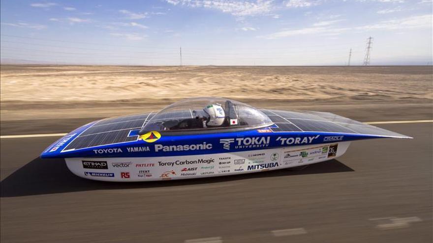 El equipo japonés Tokai gana la tercera edición de Carrera Solar Atacama en Chile