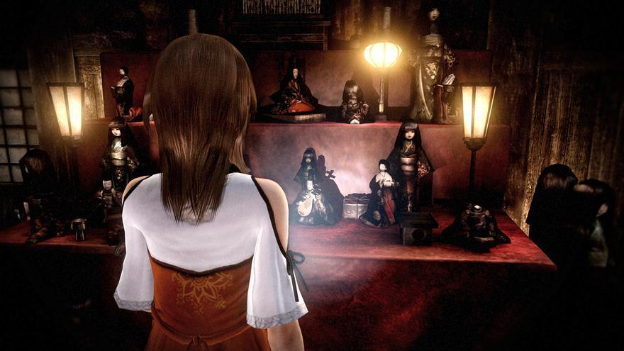 Fatal Frame The Black Haired Shrine Maiden