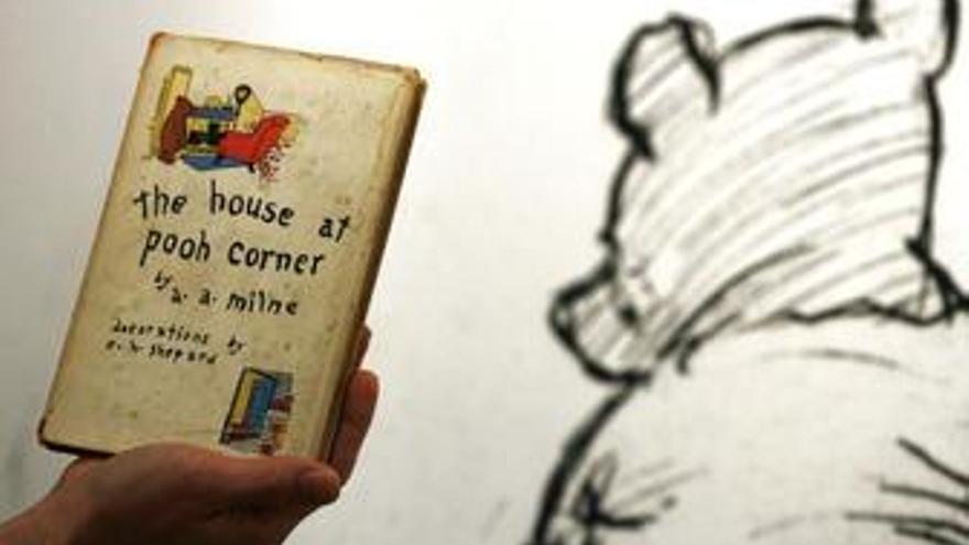 Primera edición libro de Winnie the Pooh