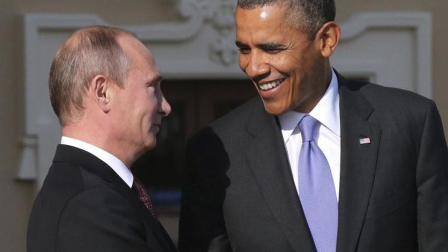 Obama habla con Putin de Siria y de la seguridad de los Juegos de Sochi