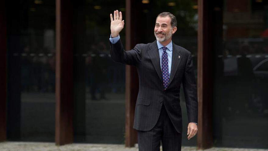El Rey visita Navarra, dónde inaugura un Congreso Internacional de Arquitectura