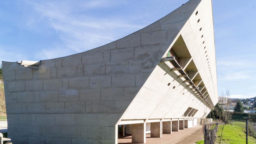 Casa de la Cultura en Firminy, Francia.