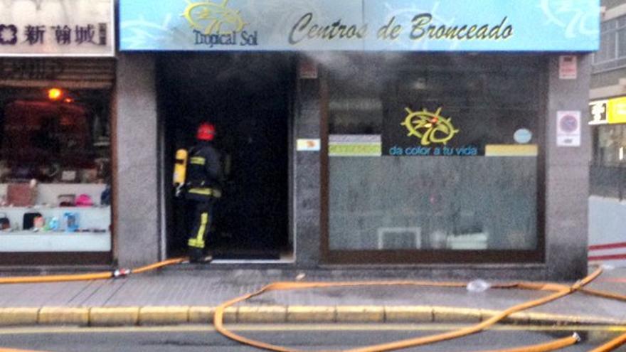 Incendio en Mesa y López