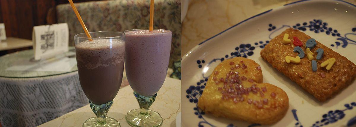 Díptico batidos y galletas_Malasaña a mordiscos_Café Ajenjo
