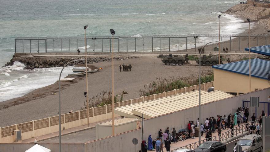 Otros 7 positivos más en la covid-19 entre los inmigrantes llegados a Ceuta