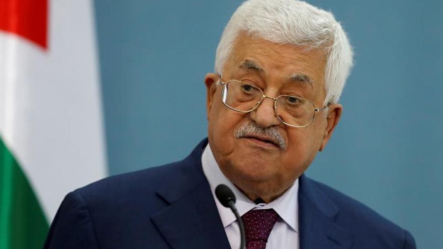 Abás advierte a Israel y EEUU de «no cruzar líneas rojas» con el plan de paz