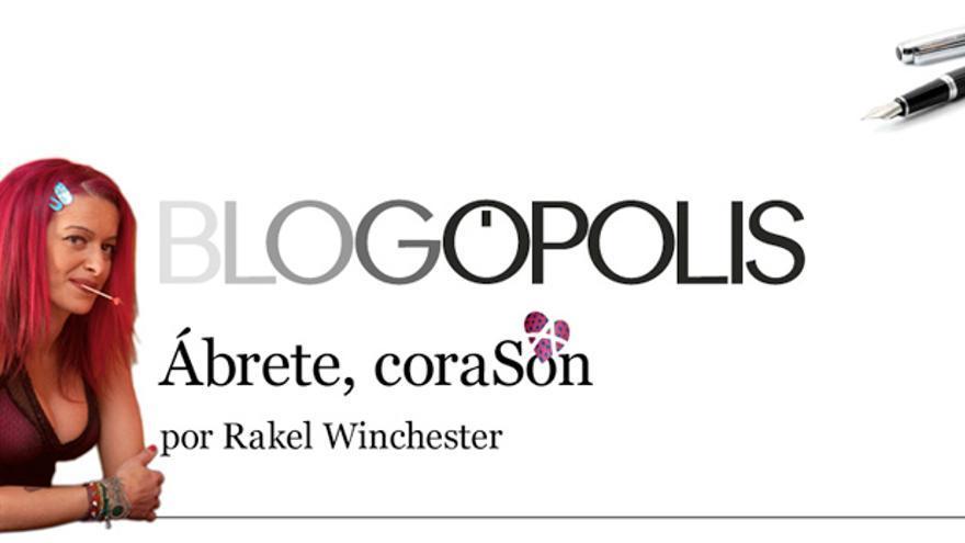Cabecera del blog Ábrete, corasón.