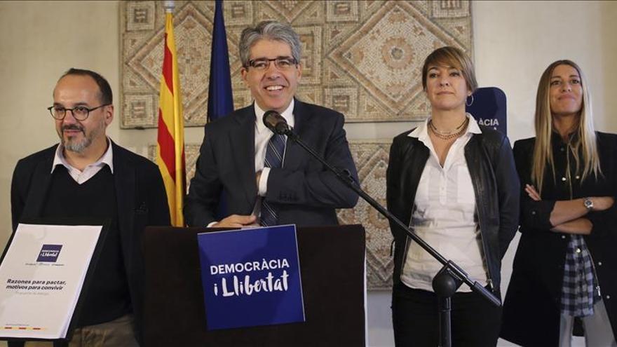 Homs propone en Madrid negociar la Cataluña independiente