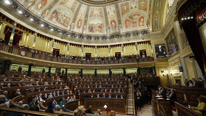 Imagen del hemiciclo del Congreso / EFE