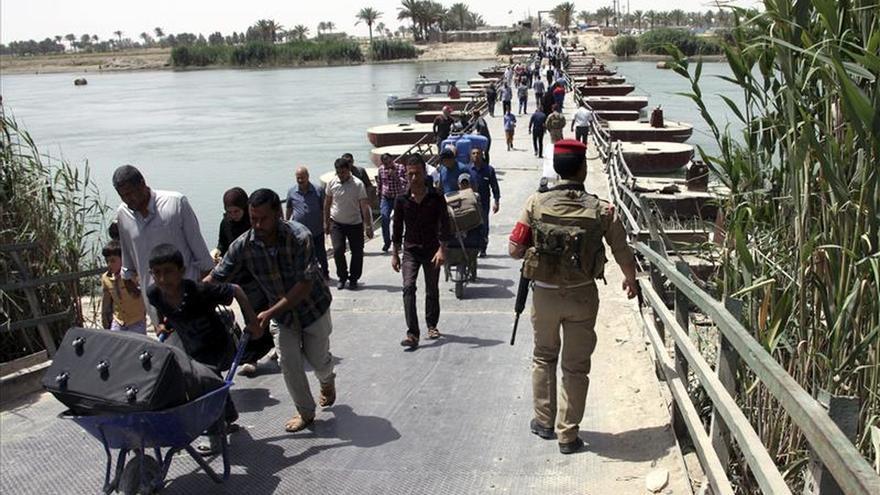 Muere una familia iraquí de desplazados por la explosión de una mina en su casa