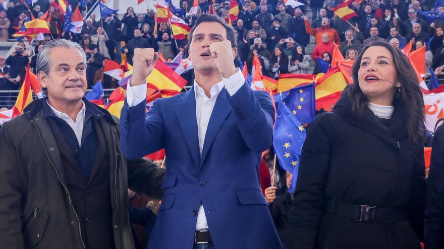 Rivera centrará la campaña electoral en Andalucía, Cataluña, Madrid y Valencia