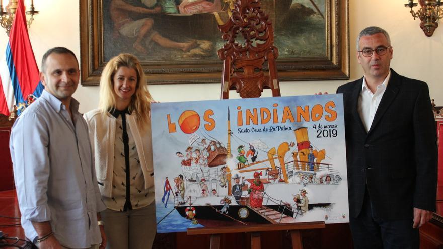 Presentación del cartel anunciador de Los Indianos 2019.