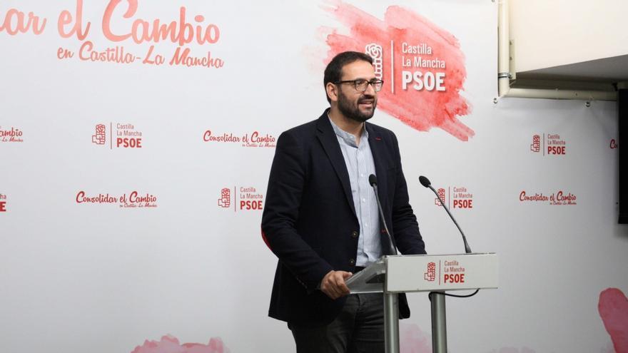 El secretario de Organización del PSOE-CLM, Sergio Gutiérrez