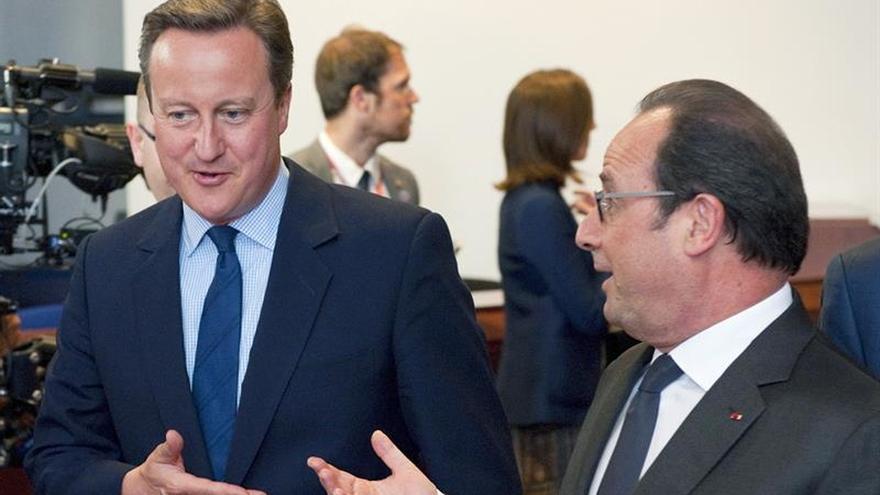 """Hollande: El Reino Unido ha asumido un """"riesgo"""" y """"va a sufrir consecuencias"""""""