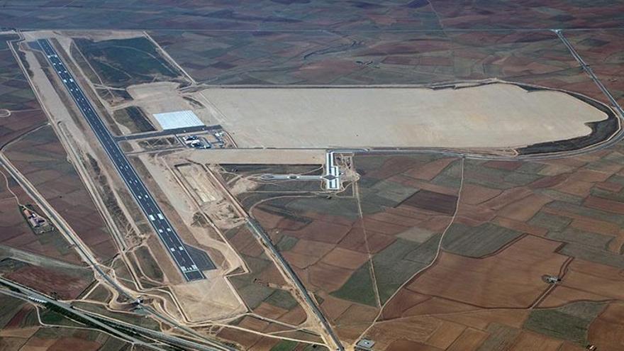 Aeropuerto de Teruel / Foto: Plata