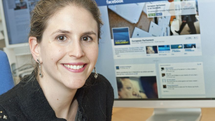 Bárbara Quílez, coordinadora de Comunicación del Parlamento Europeo