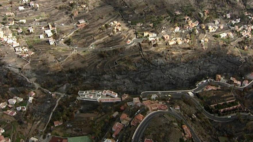 CC pide la comparecencia de Cañete para informar sobre el fuego de La Gomera