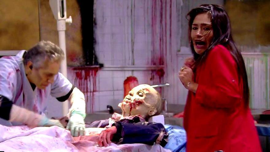 Miriam en el Halloween de GH VIP