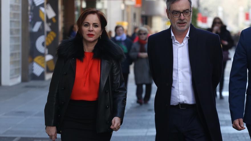 Silvia Clemente y José Manuel Villegas.