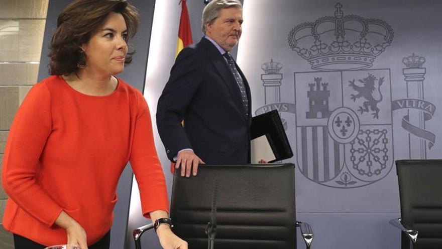 """El Gobierno habla de """"especulaciones"""" y de falta de """"solidez"""" en informe de la UCO"""
