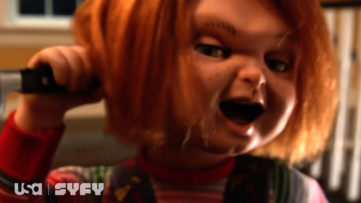 Chucky en el teaser de su serie