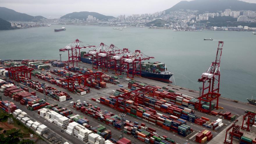 El superávit comercial de Corea del Sur creció un 164 % en agosto