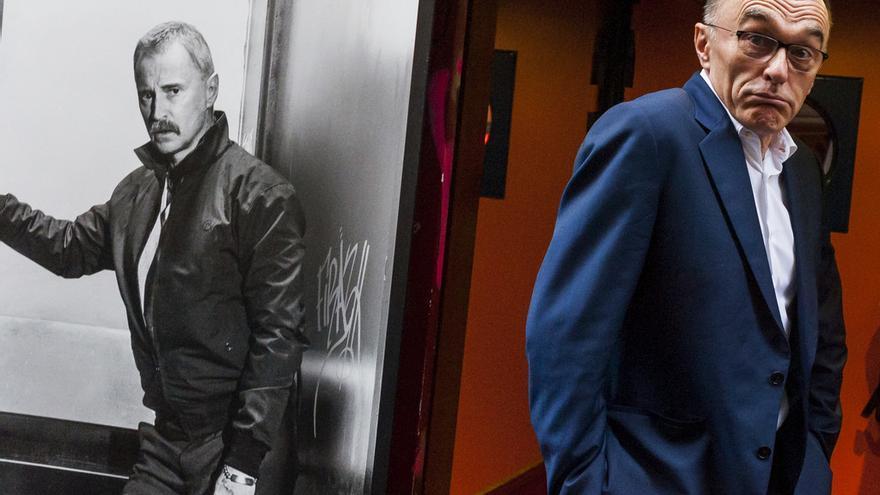 El director británico Danny Boyle, durante su visita a Madrid para presentar 'Trainspotting T2'