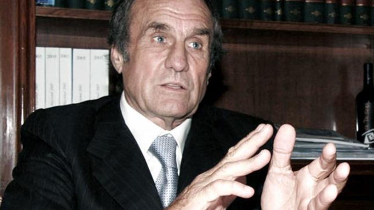 El senador y exgobernador de Santa Fe Carlos Reutemann