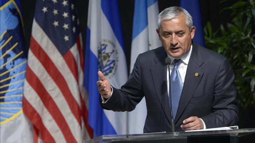 Congresistas de EE.UU. piden a Pérez Molina renovar el mandato de la CICIG