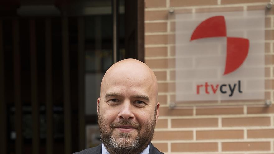 El nuevo director de RTVCyL, Jorge Losada.