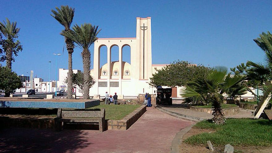 Imagen de la ciudad de Dakhla, al sur del Sahara Occidental