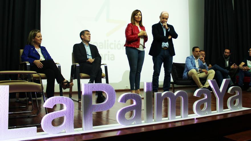 Imagen de archivo de un acto de CC celebrado en Los Llanos de Aridane.