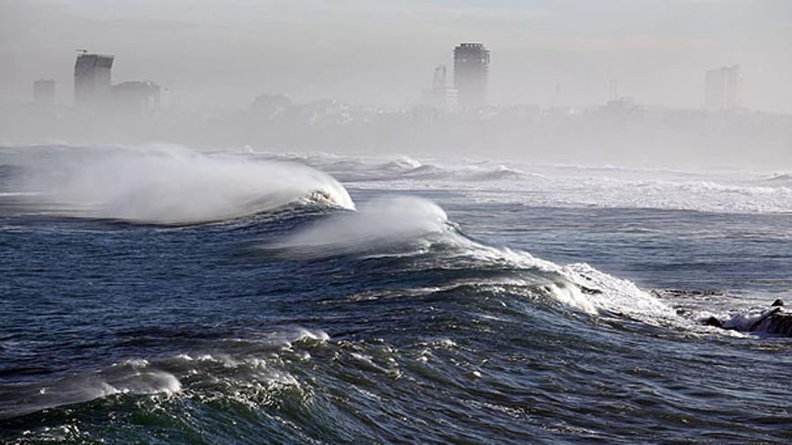 Del oleaje en el litoral #3