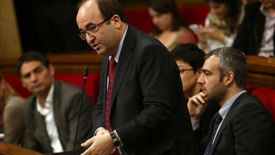 """Iceta acusa a Rajoy de llegar """"tarde y mal"""" a Cataluña e insiste en el diálogo"""