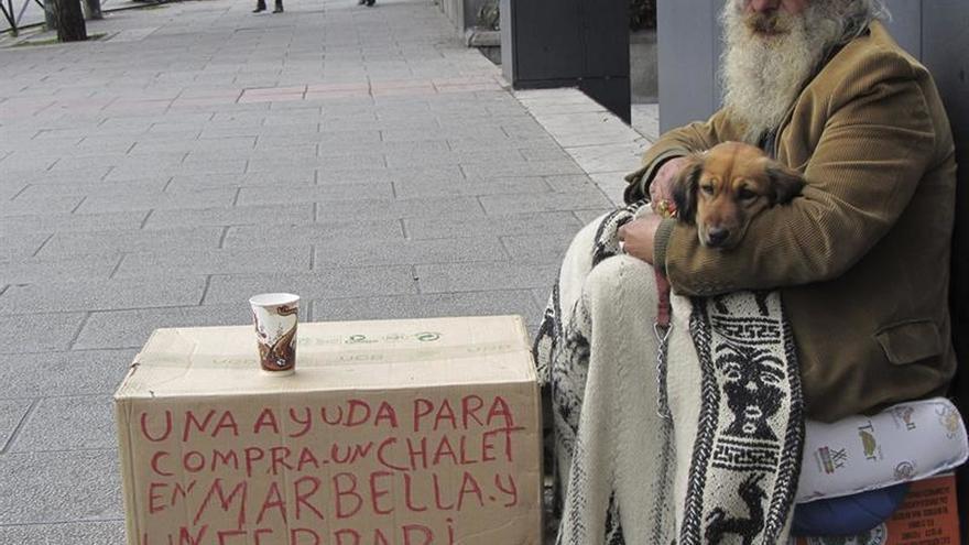 En Euskadi viven alrededor de 2.000 'sin techo'.