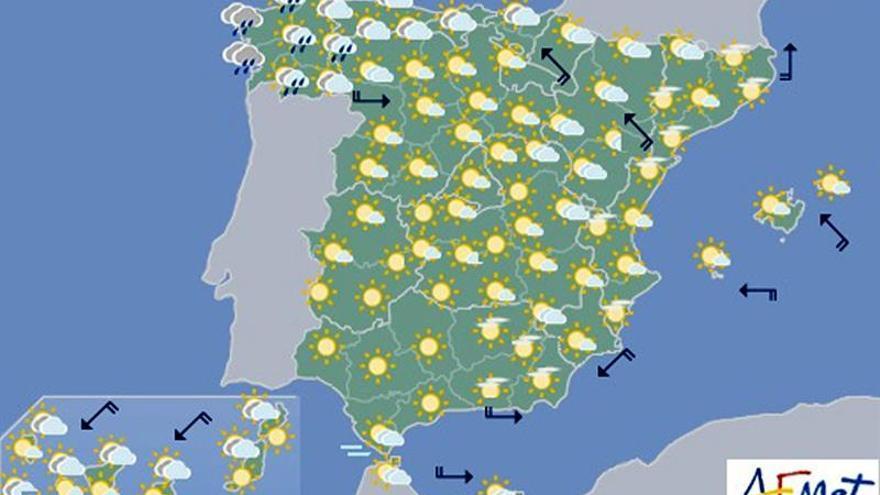 Hoy, descenso de las temperaturas, muy notable en el Cantábrico