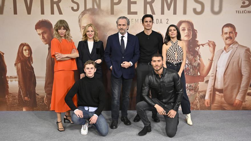 """'Vivir sin permiso' promete superarse: """"En la 2ª temporada apretamos las historias y quitamos relleno"""""""