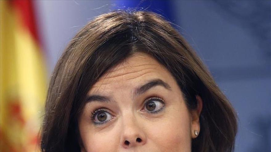 Sáenz de Santamaría destaca una rebaja importante de impuestos la siguiente legislatura