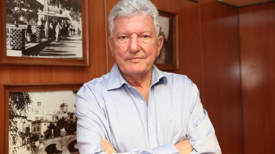 Pedro Quevedo, candidato de Nueva Canarias al Congreso de los Diputados por la provincia de Las Palmas.