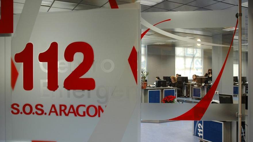 Centro de Emergencias SOS 112 Aragón en Zaragoza.