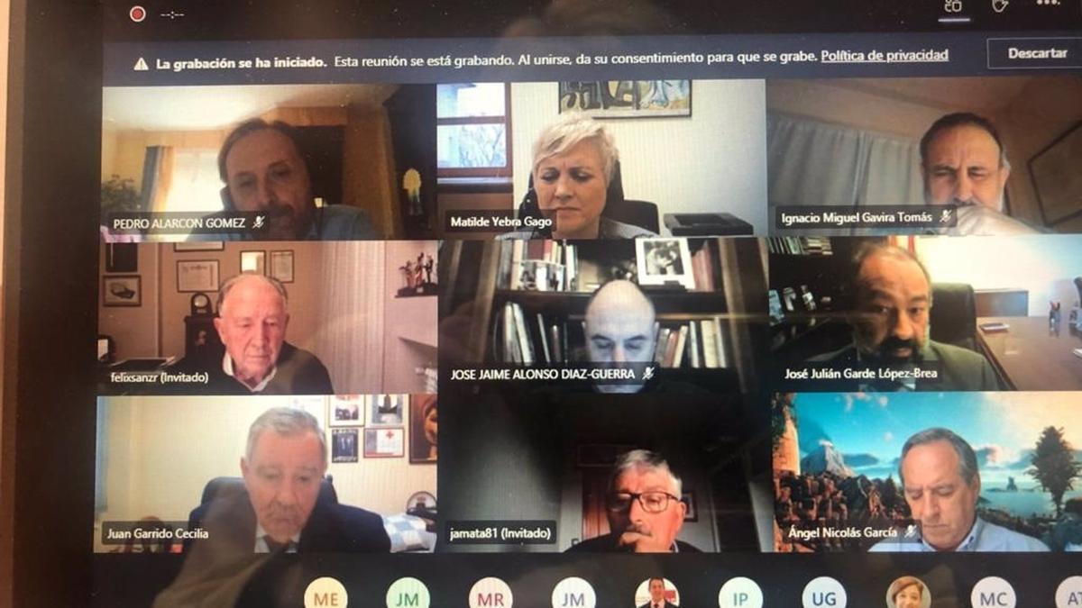 Reunión telemática del Consejo Social de la UCLM