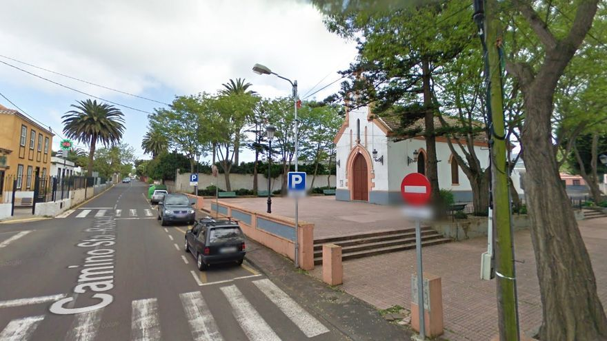 Iglesia Santa Rosa de Lima, en Guamasa, La Laguna