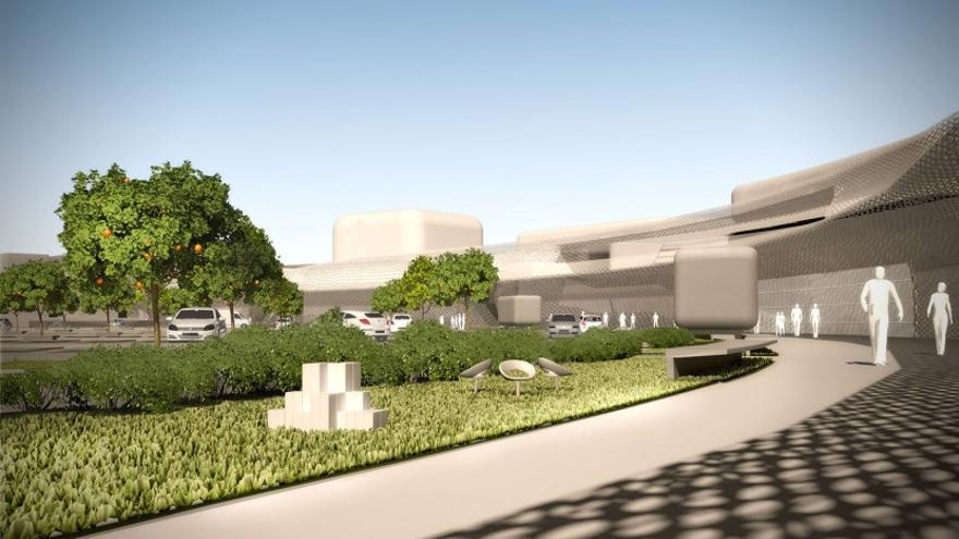 El centro comercial Estepark, en Castellón, quiere aplicar las últimas tendencias arquitectónicas.