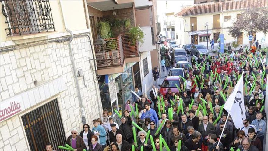 Cientos de vecinos de Valdemoro piden la disolución del Ayuntamiento