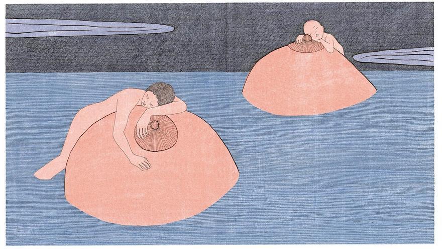 Ilustración de Marion Fayolle, Los pequeños, Nórdica, 2021.