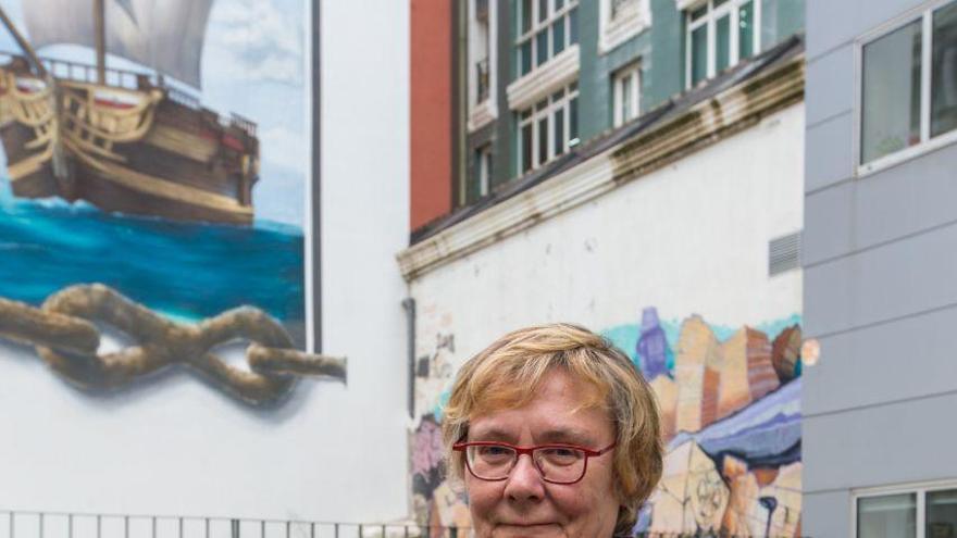 La nueva directora general de Acción Cultural de Cantabria, Gema Agudo.