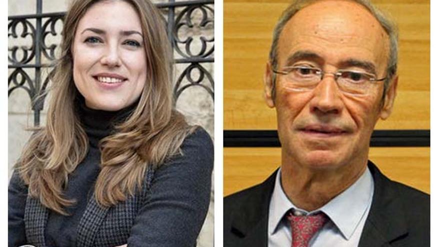 Los socialistas María Such y Ciprià Císcar