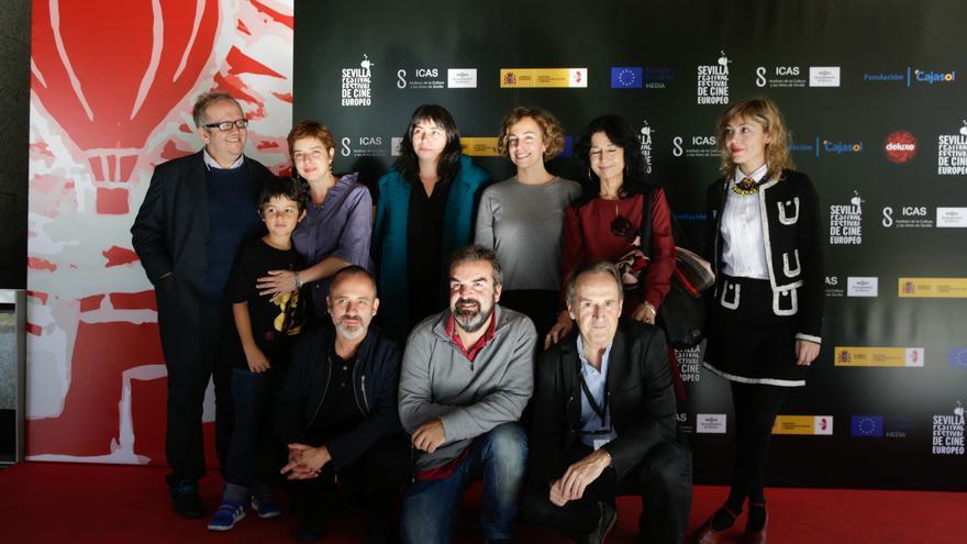 Equipo de 'Mi querida España' y de la FCEA