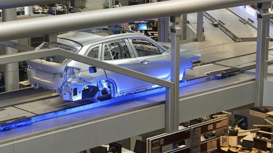 La producción industrial alemana subió un 2,2 por ciento en febrero